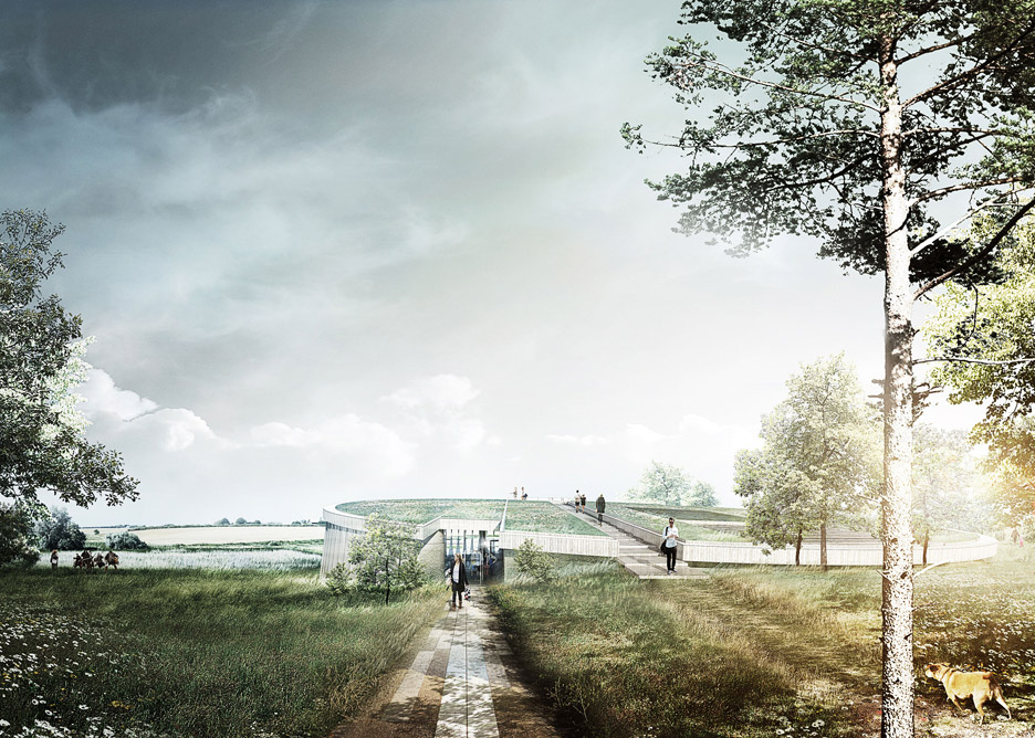 The Lost Shield by PLH Arkitekter
