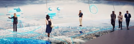 The Mile observation tower by Carlo Ratti