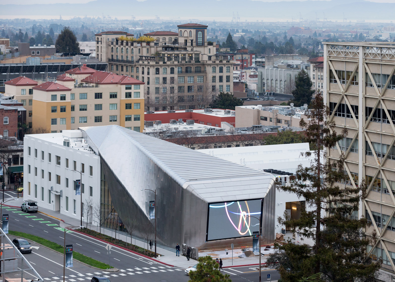 13 Of 13; The University Of California At Berkeley Art Museum And Pacific  Film Archive