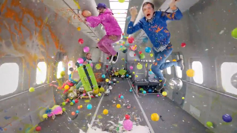 Upside Down Inside Out OK Go music video