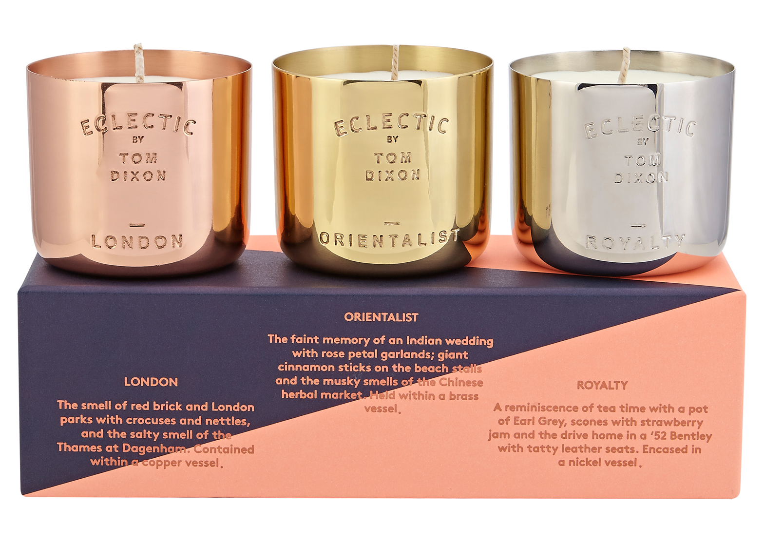 Scent London Candle by Tom Dixon