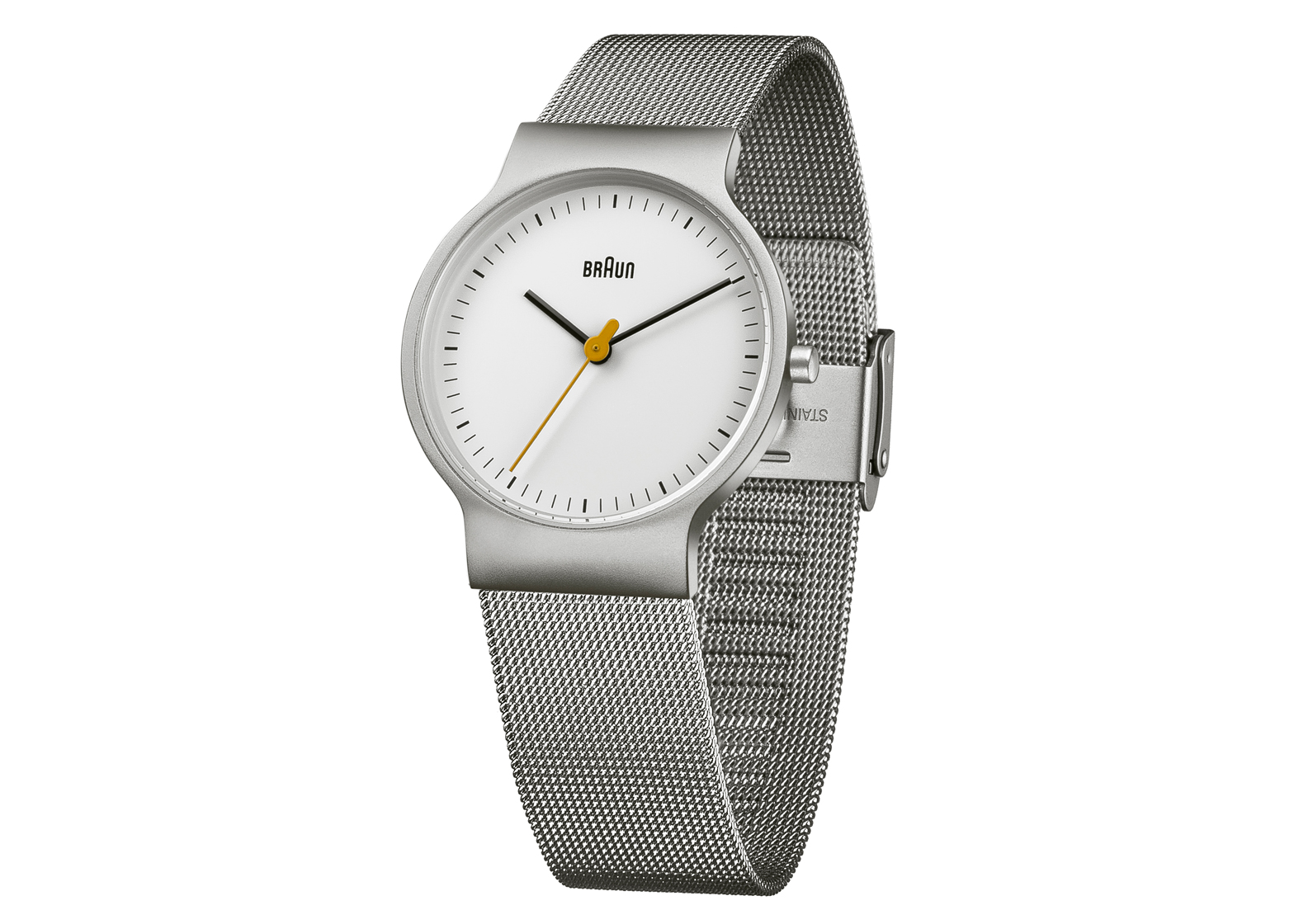 Braun BN0211 Small in White/Silver