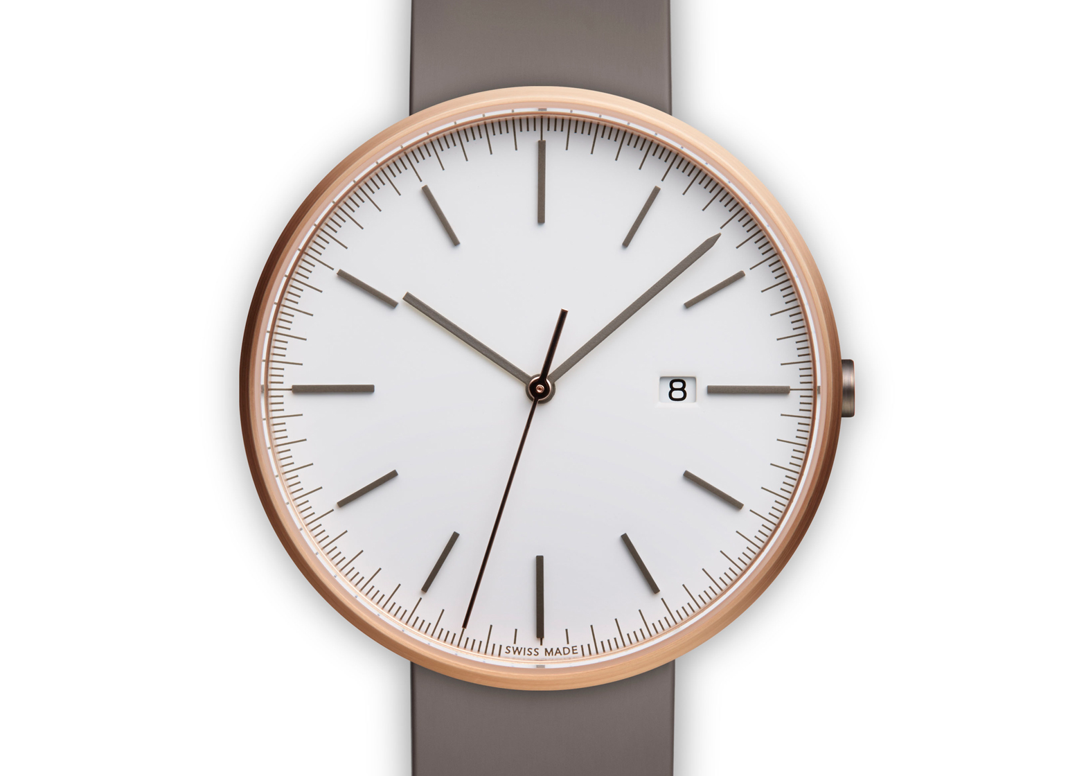 Uniform Wares M40 in Rose Gold/Grey