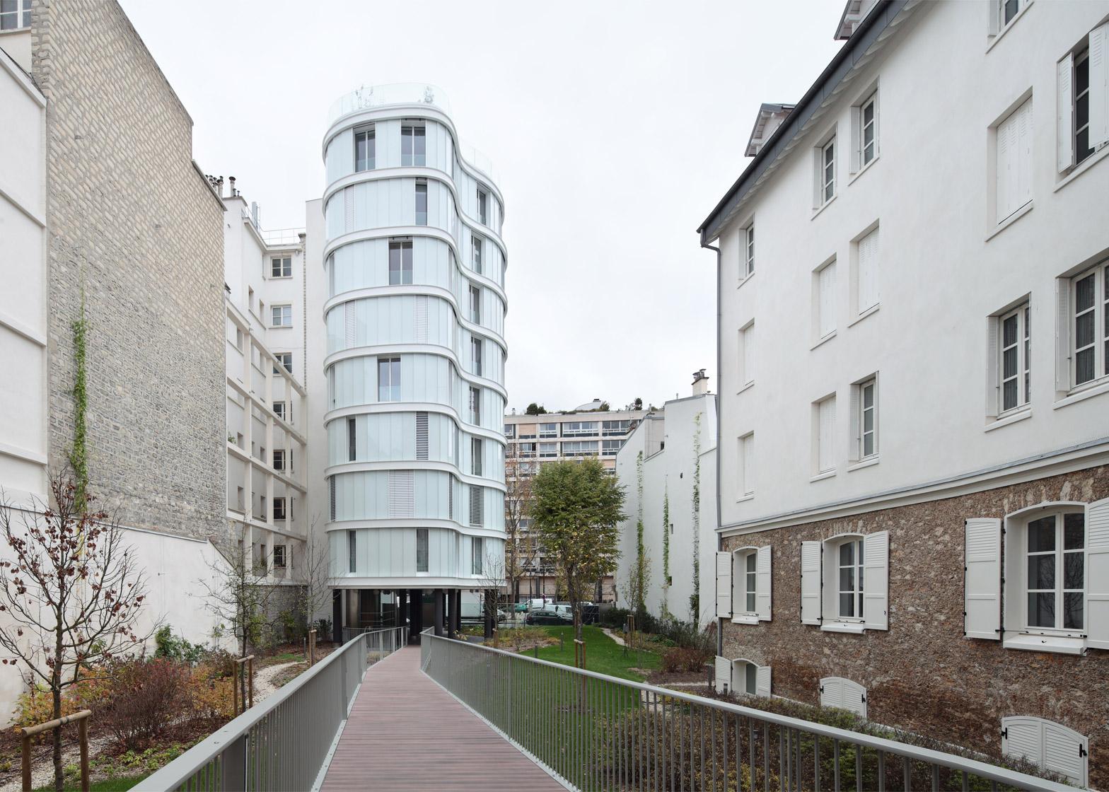 Villa Saxe in Paris by ECDM