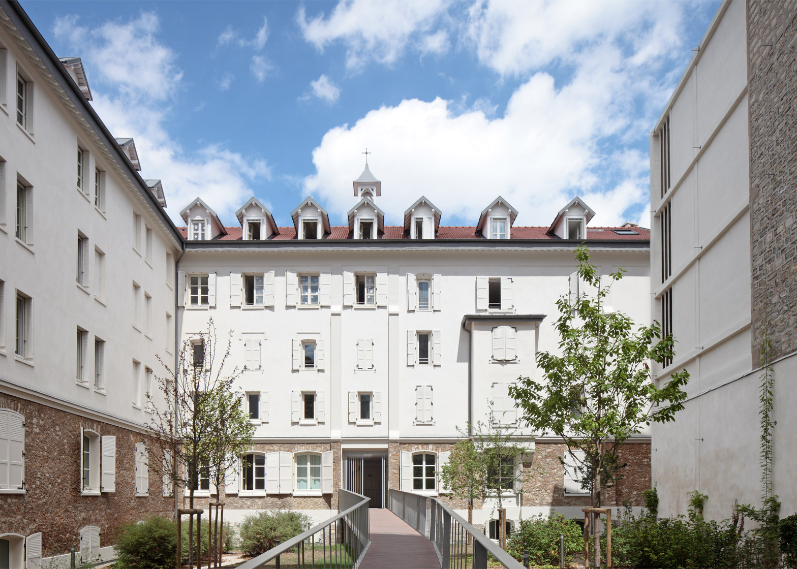 Villa Saxe in Paris by ECDM