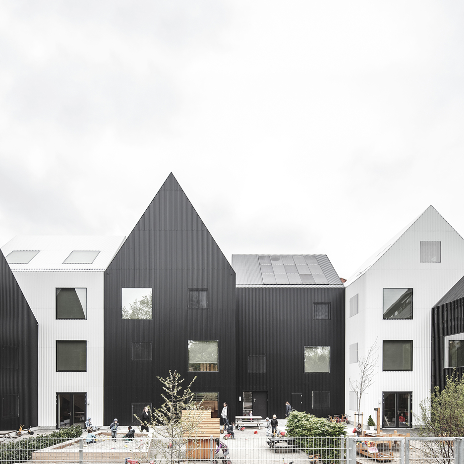COBE's Frederiksvej Kindergarten is based on children's drawings