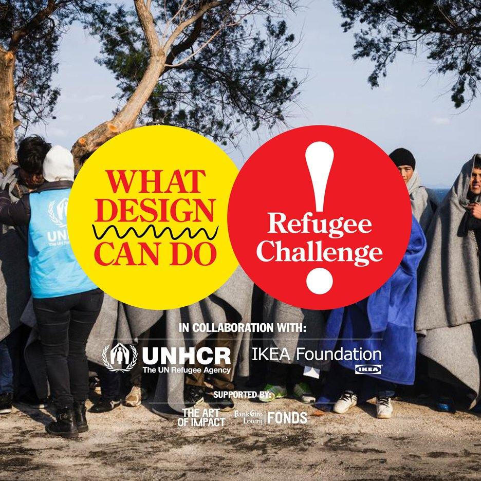 What Design Can Do launches design challenge to create solutions for refugees