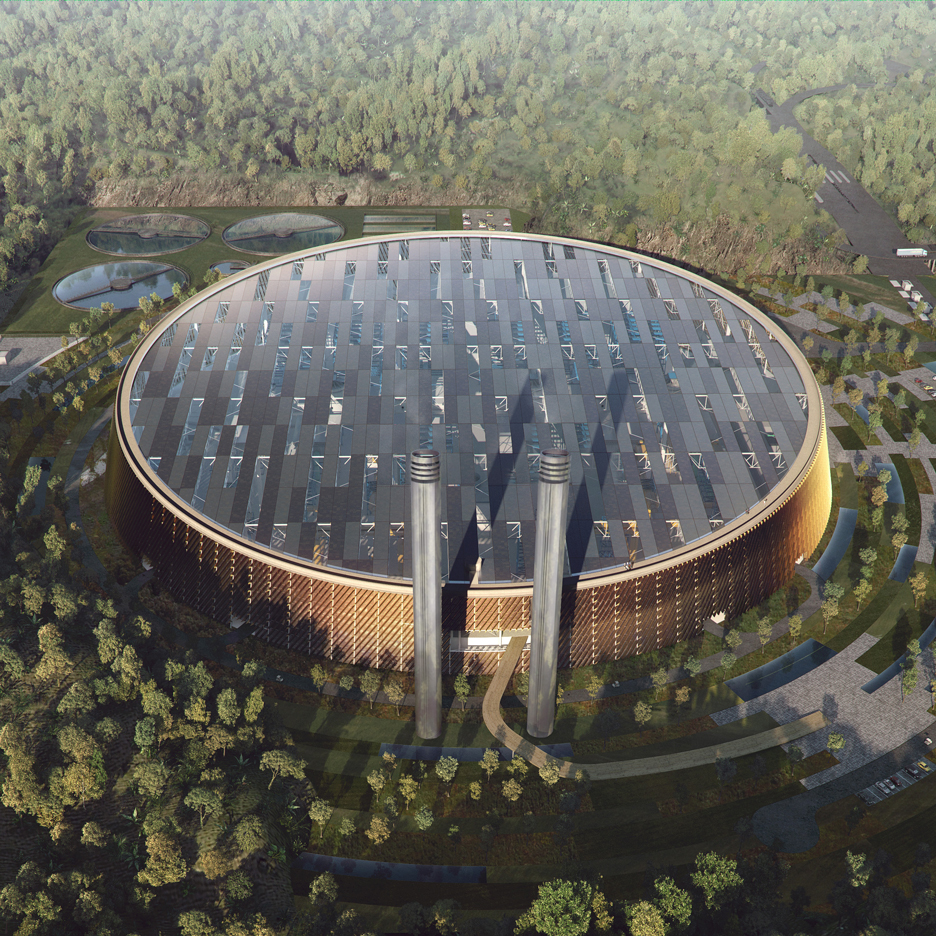 World's largest waste-to-energy plant by Schmidt Hammer Lassen and Gottlieb Palaudan
