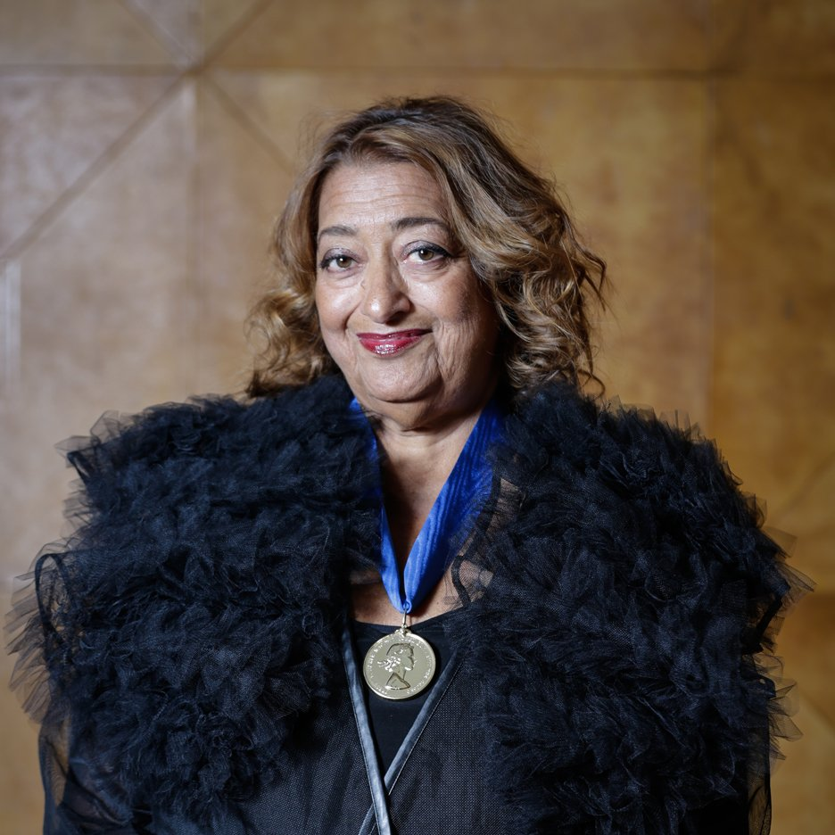 "Royal Gold Medal for Zaha Hadid was ""totally overdue"" says RIBA president"