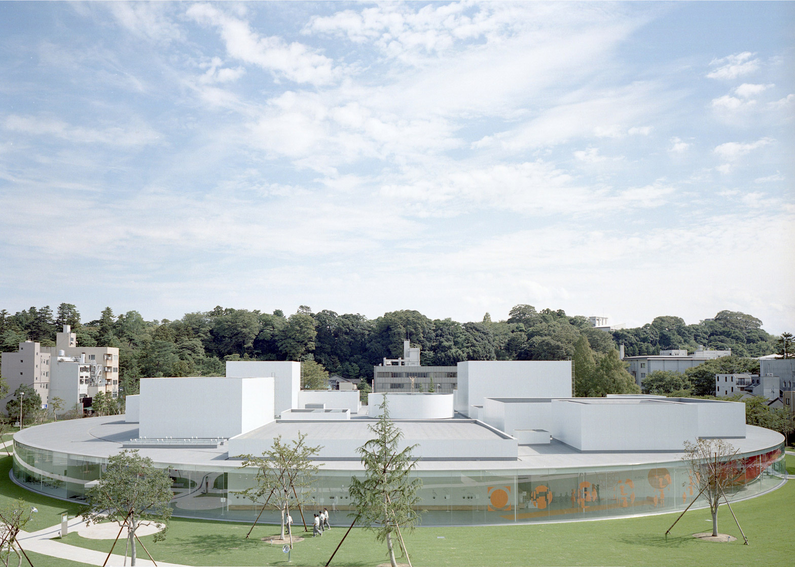 21st Century Museum of Contemporary Art, Kanazawa, Japan by SANAA, 1999–2004