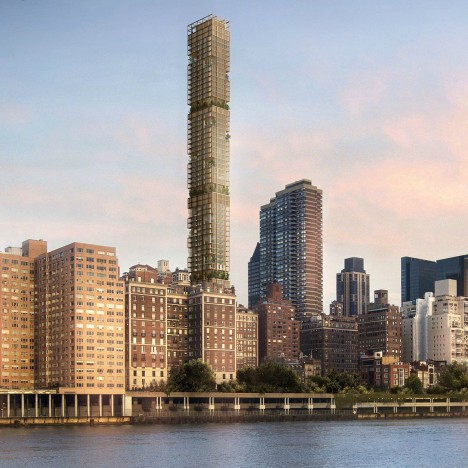 Future of Foster + Partners' 3 Sutton Place skyscraper in New York under threat