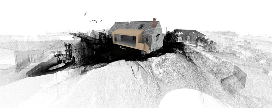 3D lidar scan house by PBWC Architects