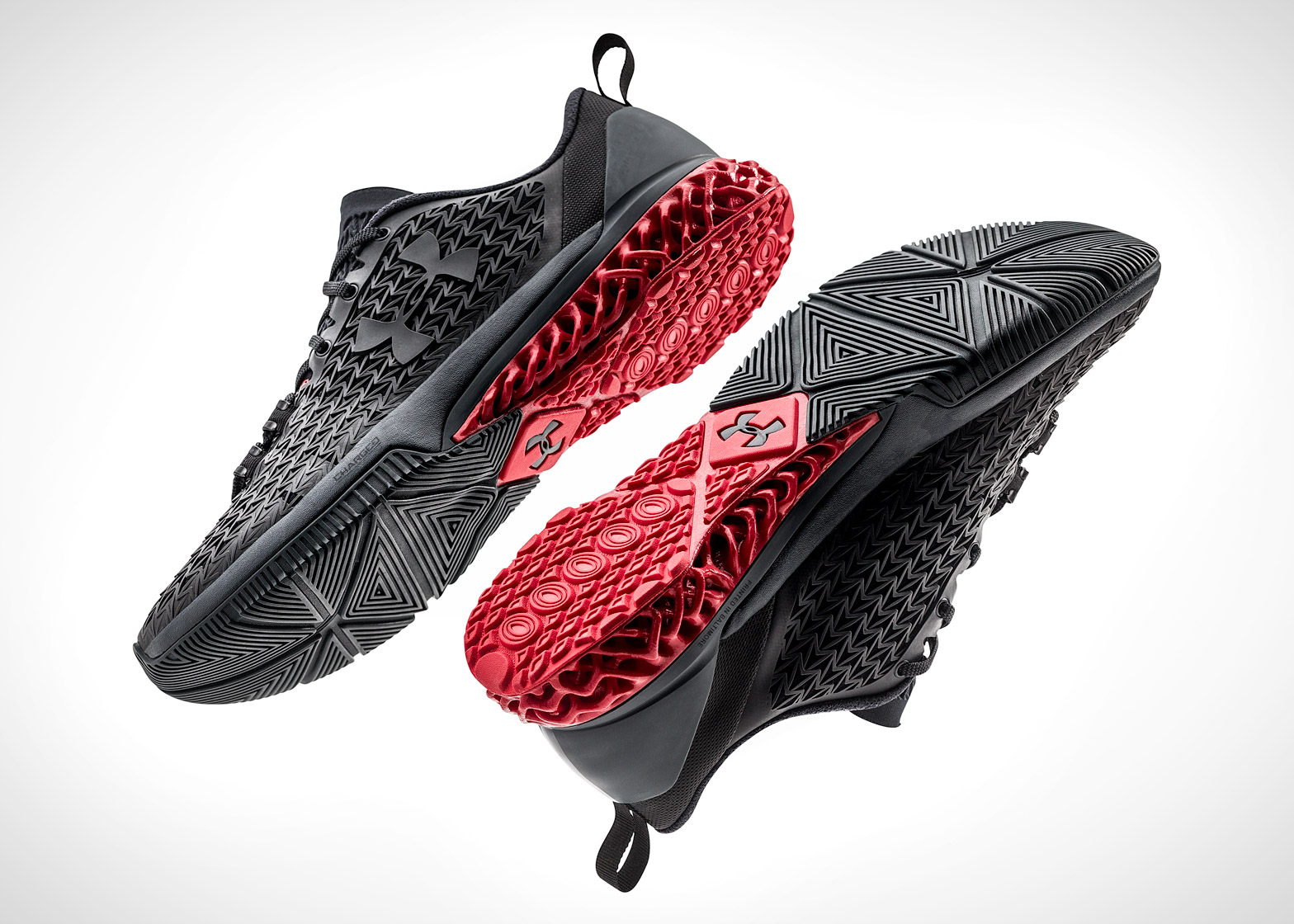 3D-printed trainer designed by Under Armour