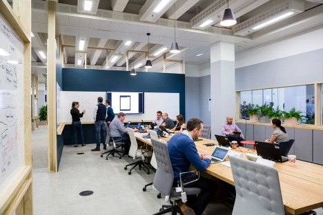 Barclaycard AGILE workplace by APALONDON