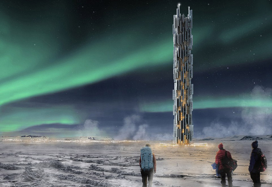 Data Tower by Valeria Mercuri and Marco Merletti