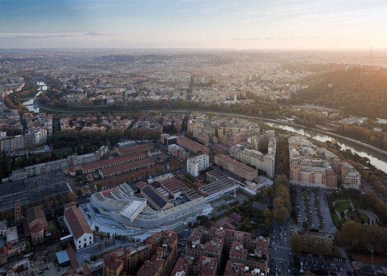 MAXXI: Museum of XXI Century Arts, Rome, Italy