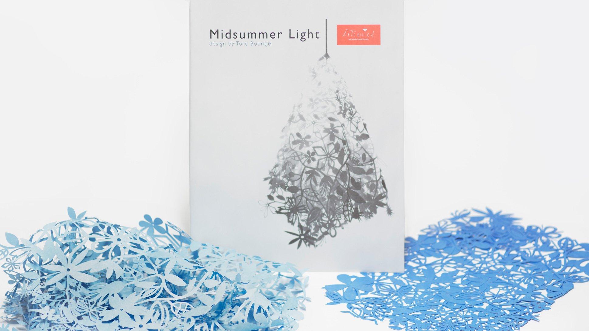 Midsummer light by Tord Boontje for Artecnica