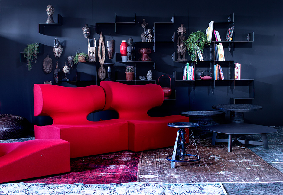 Misfits Sofa by Ron Arad