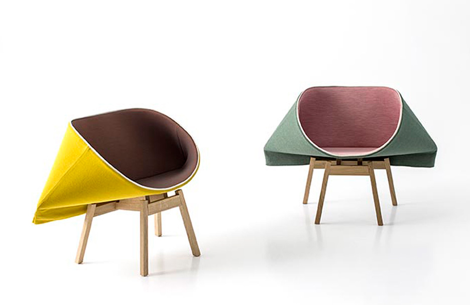 Kenny chairs by Raw Edges