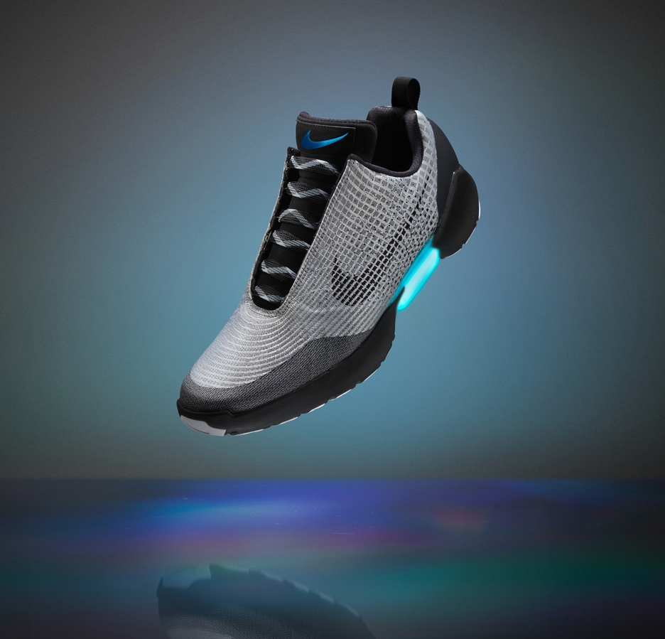 Nike launches self-lacing shoes | Dezeen