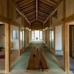 Tatami mats create gridded layout for Kenrak Tokmoto's Inari House