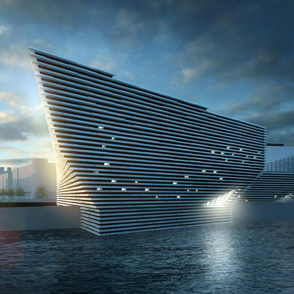 Kengo Kuma's V&A Dundee project