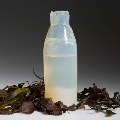 Ari Jónsson uses algae to create biodegradable water bottles