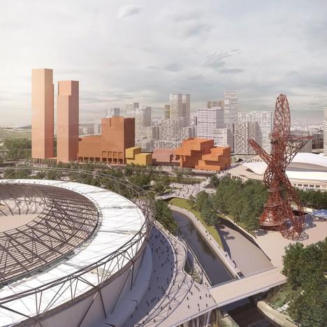 New Olympicopolis images revealed