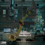 Factory Fifteen's latest movie features a futuristic car factory taken over robots