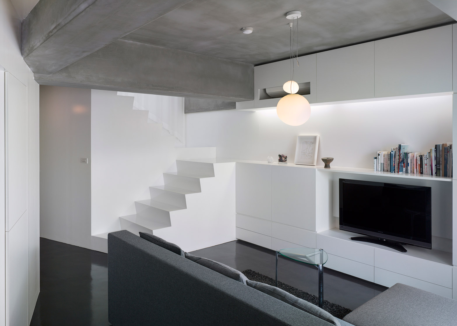 UME Architects transforms Kyoto apartment into flat and atelier