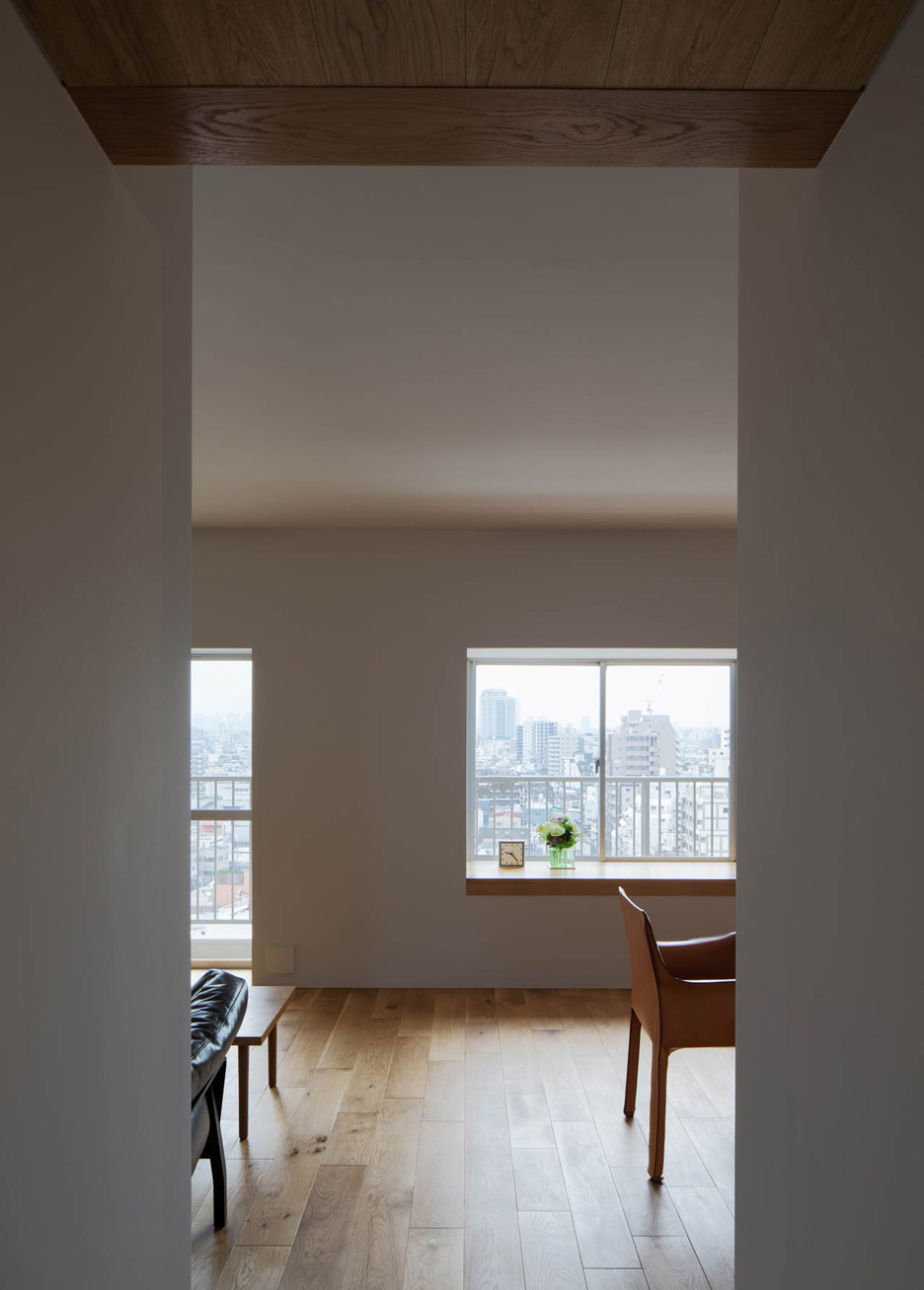 Apartment interior in Machiya by Yumiko Miki Architects
