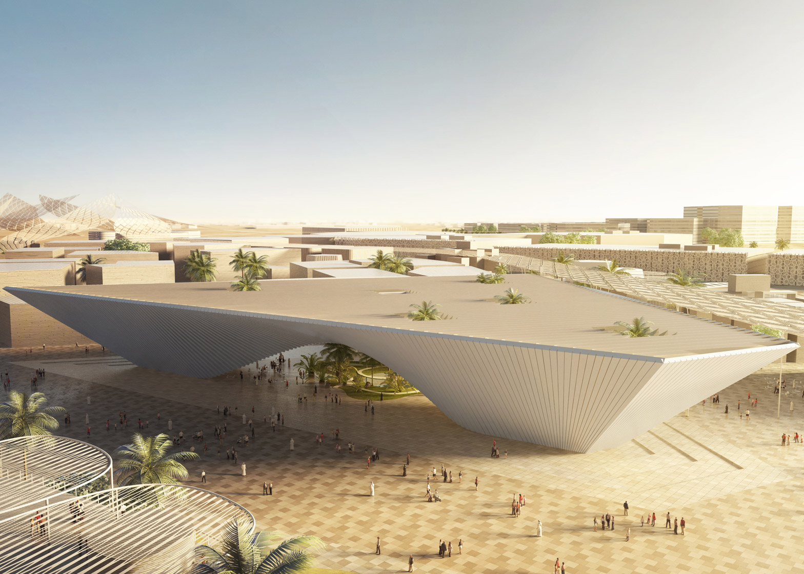 BIG's Opportunity Pavilion from the Dubai Expo 2020