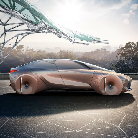 BMW unveils shape-shifting concept car with computers that can predict your every move