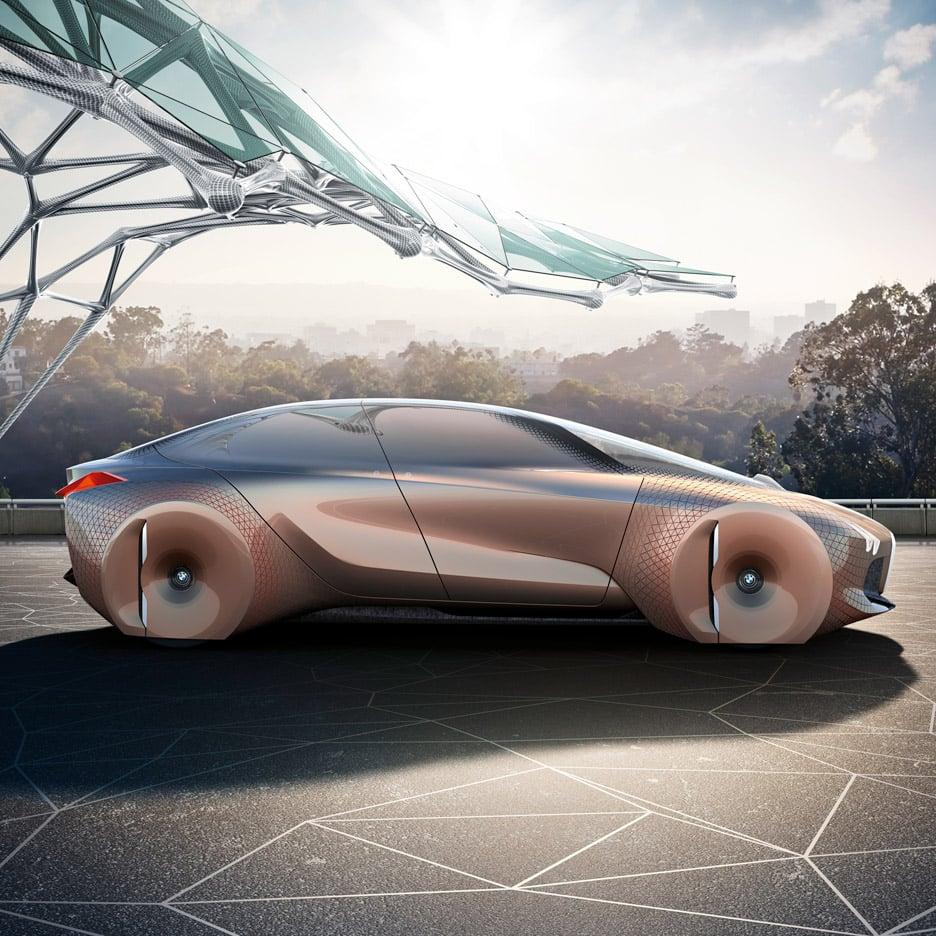 BMW unveils shape-shifting concept car Next 100