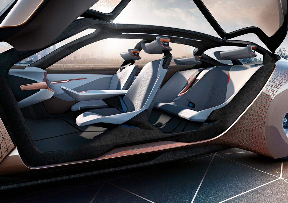 Sensational Bmw Unveils Shape Shifting Concept Car Next 100 Interior Design Ideas Tzicisoteloinfo