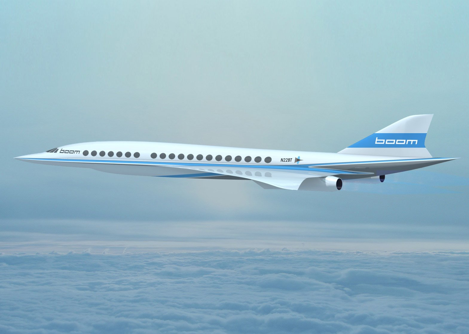 supersonic boom aircraft will be fastest passenger plane ever
