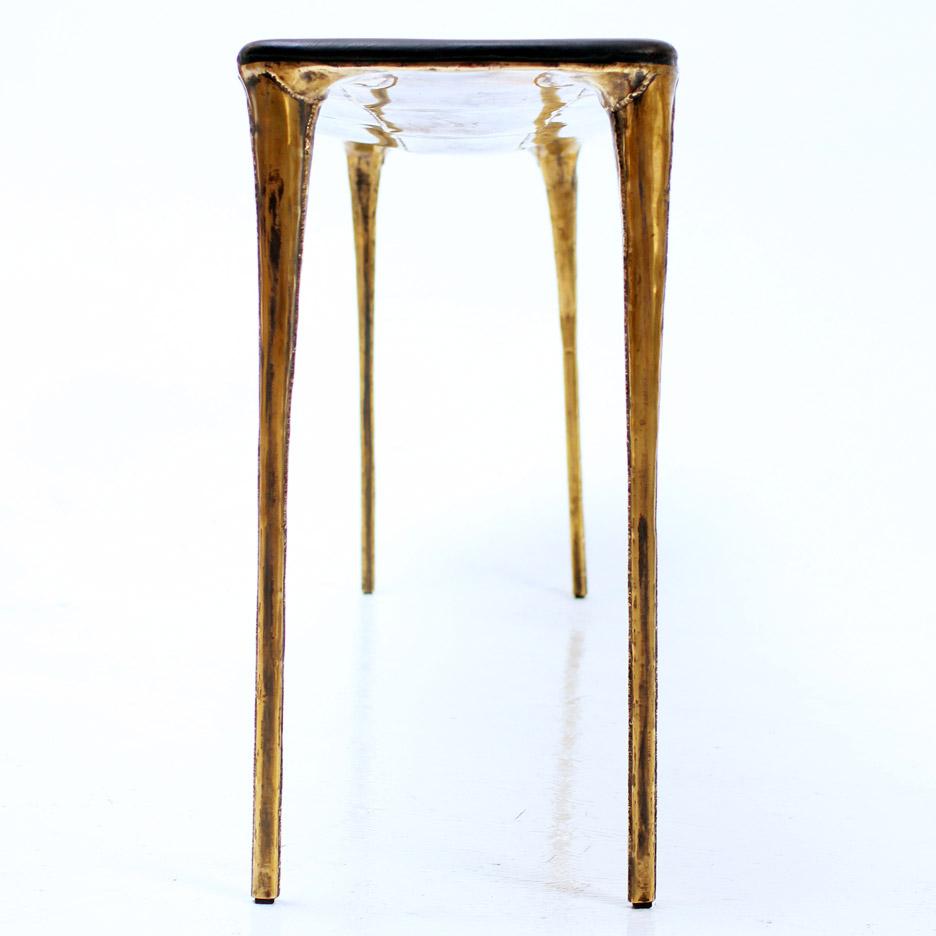 Brass pieces by Studio Valentin Loellmann
