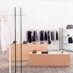 Brook&Lyn creates minimal fashion showroom at Everlane offices