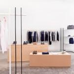 Brook&Lyn creates minimal fashion showroom at Everlane offices