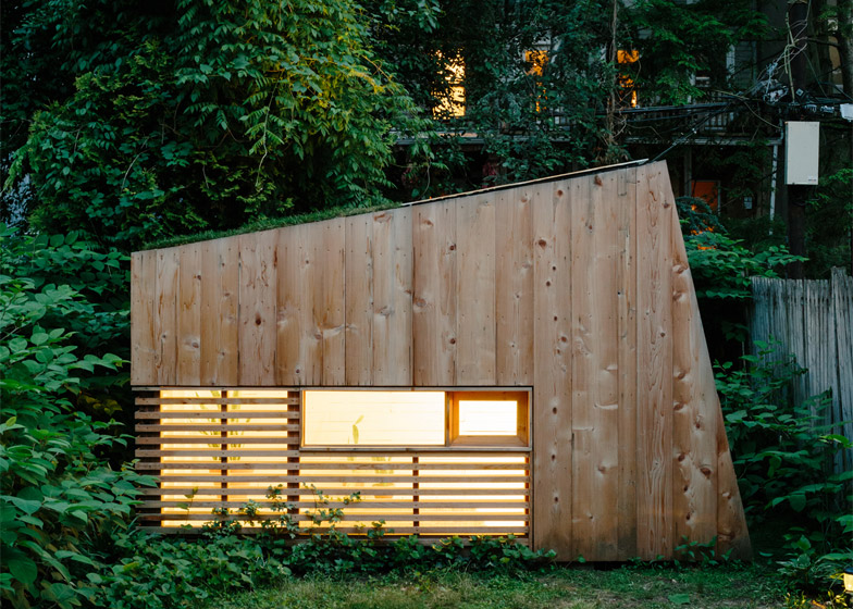 Architect Nicholas Hunt creates a tiny retreat in his Brooklyn garden