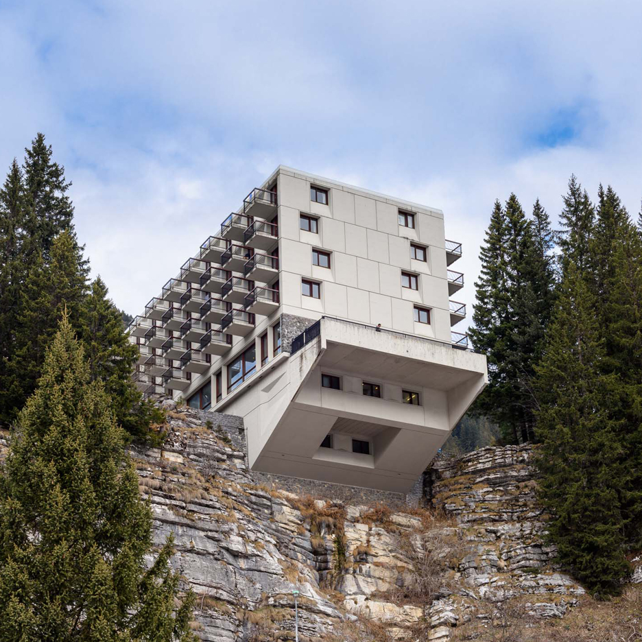 "Alastair Philip Wiper finds ""noble failure"" at Breuer's Modernist Flaine ski resort"