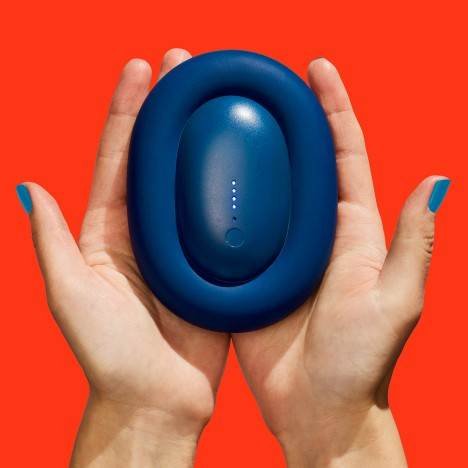 "Karim Rashid's Bump smartphone charger ""eliminates the knotty tangle of power cords"""