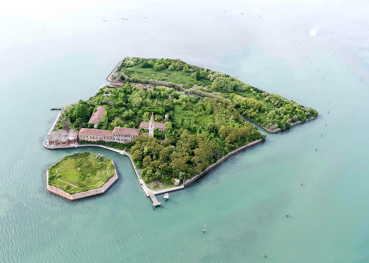 The University Island competition aims to transform the abandoned Poveglia Island