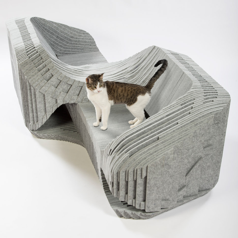 Cat houses by Los Angeles-based architects for FixNation