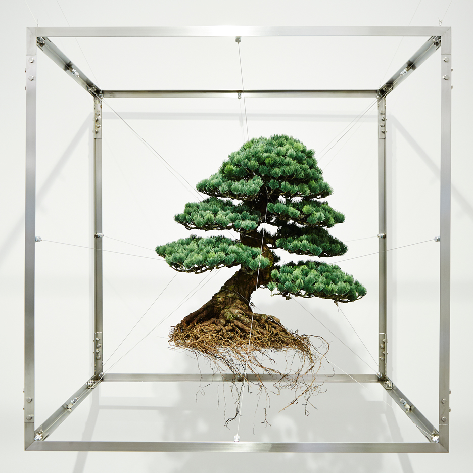 Installation by Japanese artst Azuma Makoto for Capsule #5 exhibition at Chamber in New York, USA