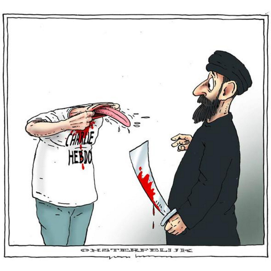 charlie hebdo illustration_joep bertrams_dezeen_sq