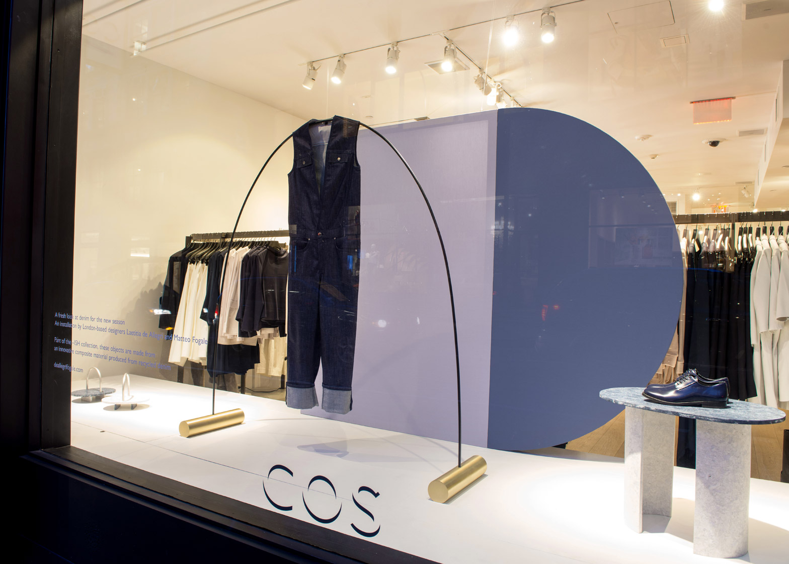 COS windows by de Allegri and Fogale