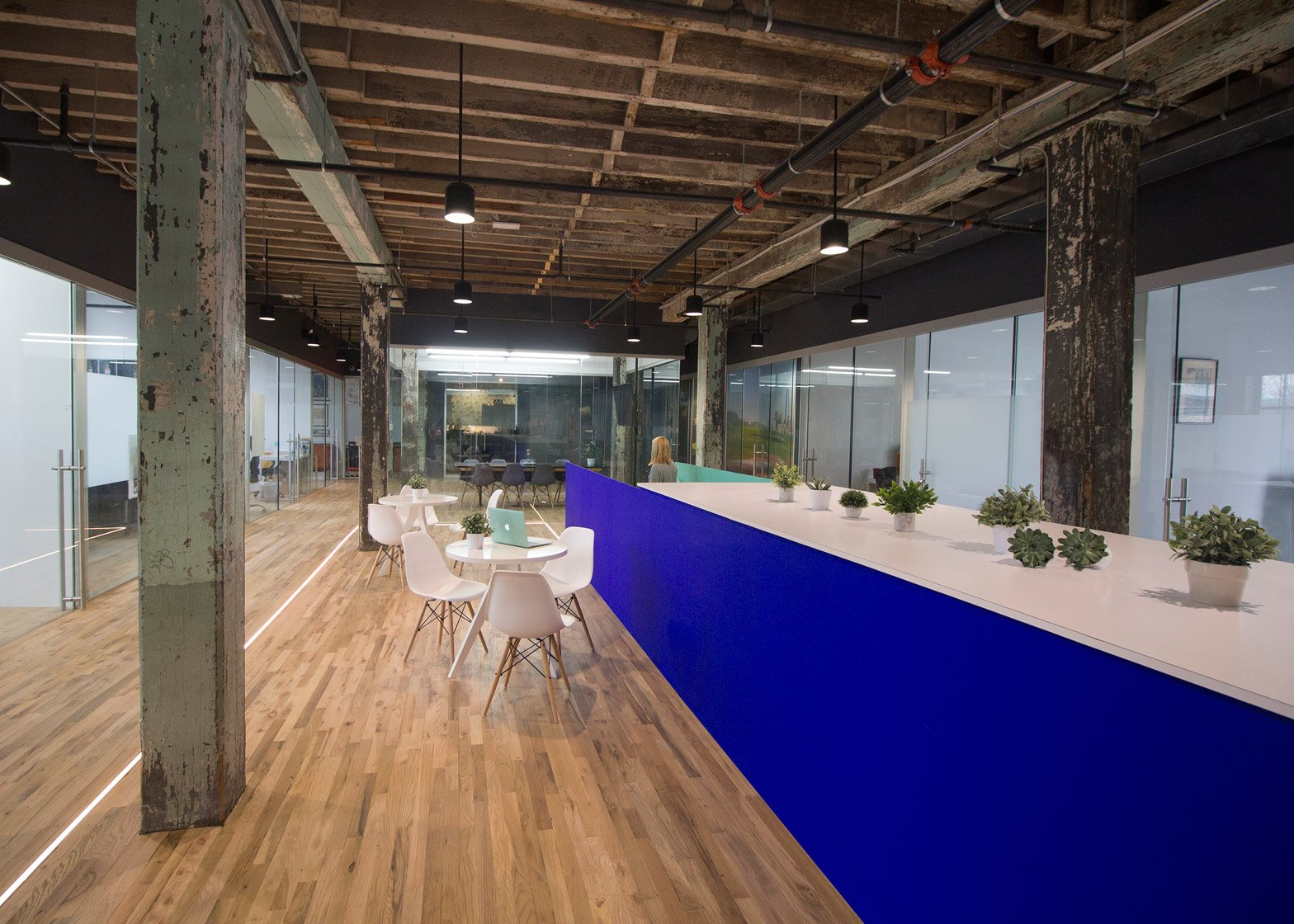5 of 11 coworking space by leeser architecture brooklyn industrial office