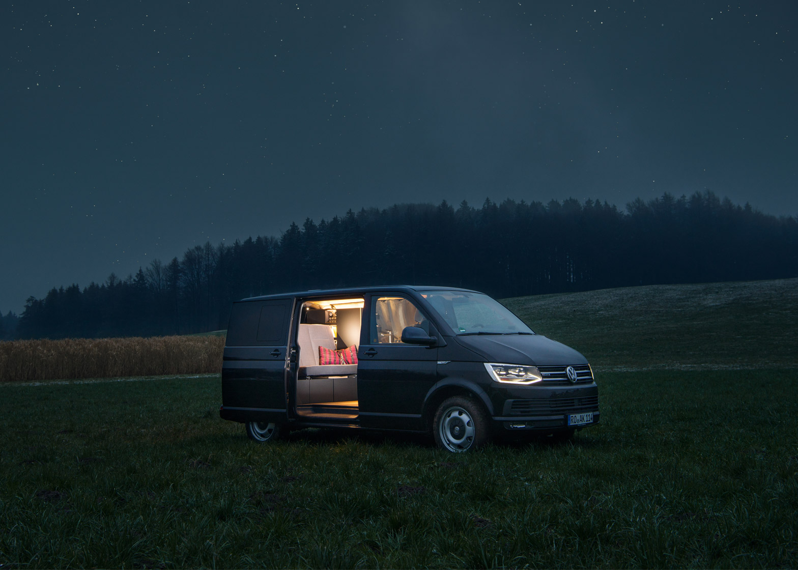 Nils Holger Moormann Designs Minimal Interior For Vw Bus