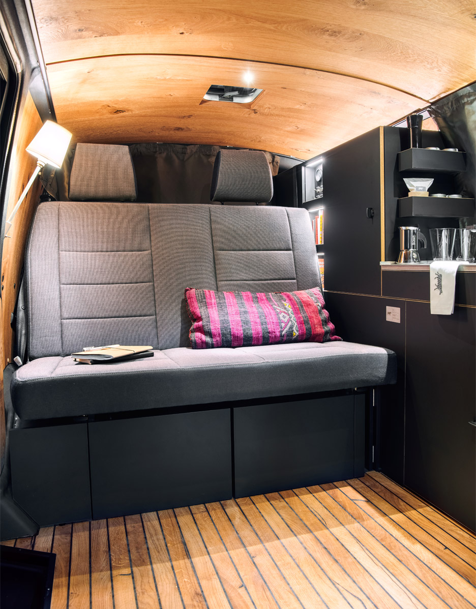 Van Interior Design Nils Holger Moormann Designs Minimal Interior For Vw Bus